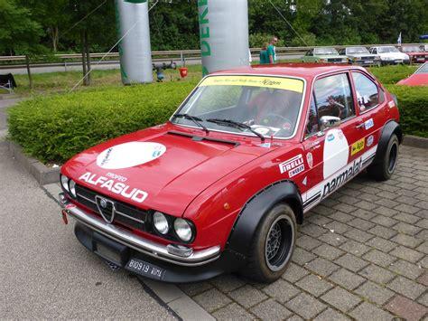 Alfa Romeo Alfasud by Alfa Romeo Alfasud Beim Konzer Und Youngtimertreffen