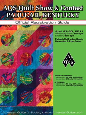 aqs quilt news paducah registration is now open