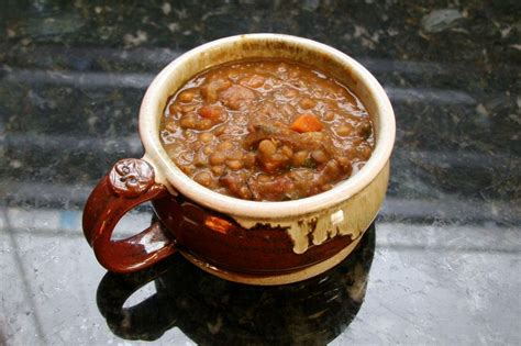 lentil and sausage crock pot cooker lentil soup with sausage and tomatoes recipe