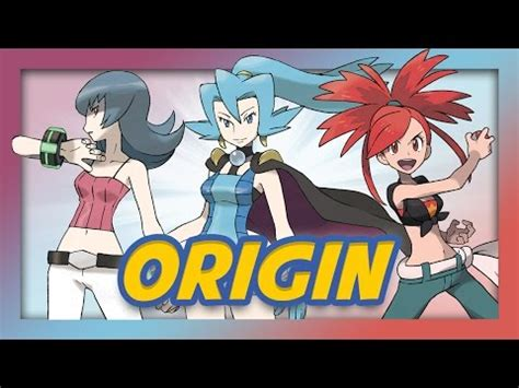 pokemon origin gym leader names (feat. mandjtv pokevids