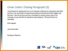 Closing Line Cover Letter   Resume CV Cover Letter