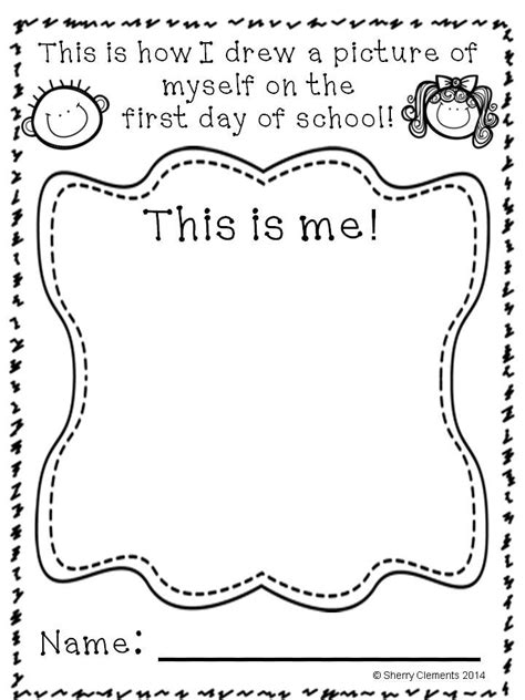 preschool coloring pages first day of school back to school progress through the year p k 1st