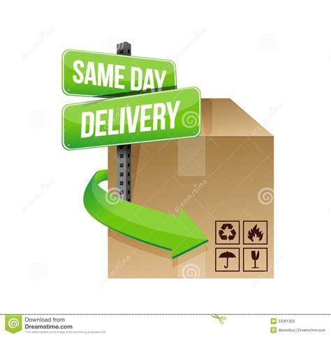 day delivery same day delivery illustration design stock illustration