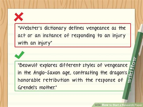 beginning a research paper how to start a research paper with pictures wikihow