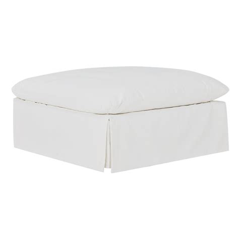 white cocktail ottoman city furniture raegan white fabric cocktail ottoman