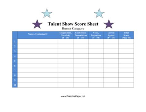 best photos of talent show judging sheet talent show