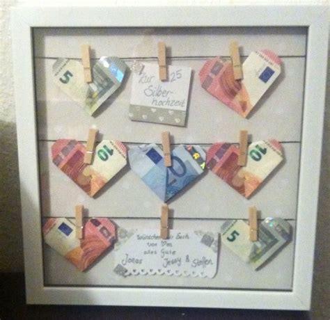 Hochzeit Geldgeschenk by Die Besten 25 Silberhochzeit Geschenk Ideen Auf