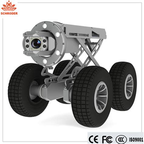 multi functional auto ptz pipe inspection robot crawler