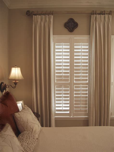 venetian blinds bedroom shutters with curtains on pinterest shutters curtains