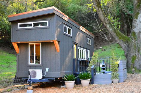 Tiny House On Wheels With Indoor/Outdoor Entertaining Spaces iDesignArch Interior Design