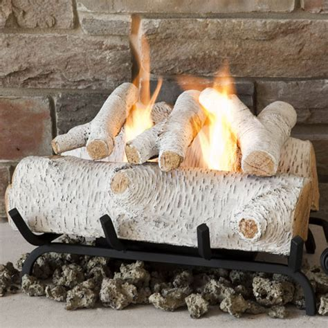 birch gas fireplace logs gas fireplace logs and birch fireplaces