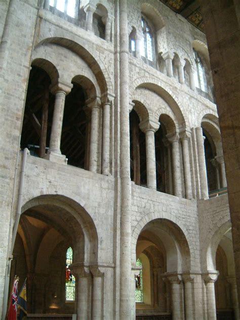 romanesque architecture england norman transept