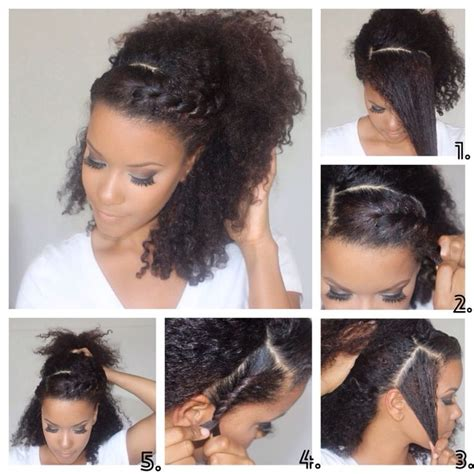how to style natural curly hair step by step 17 best images about natural hairstyle tut hut on