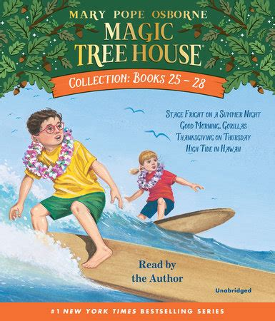 seven seconds osborne books magic tree house collection volume 7 books 25 28 by