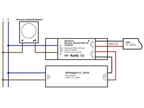 kann led dimmen led dimmer phasenanschnitt phasenabschnitt zu pwm 12v