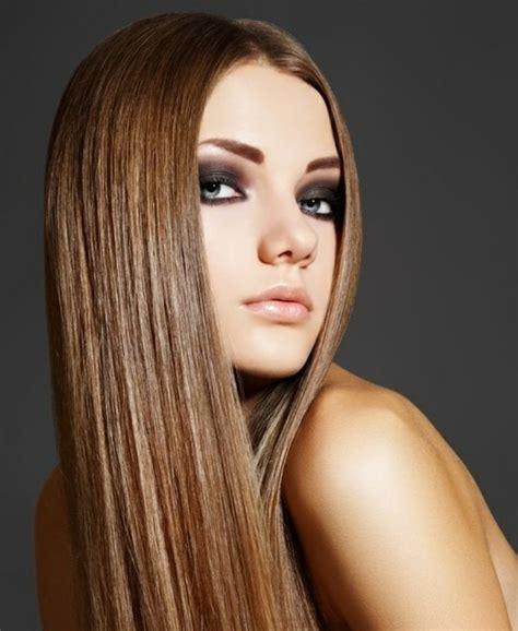 schick aussehen lange glatte haare sind immer im trend