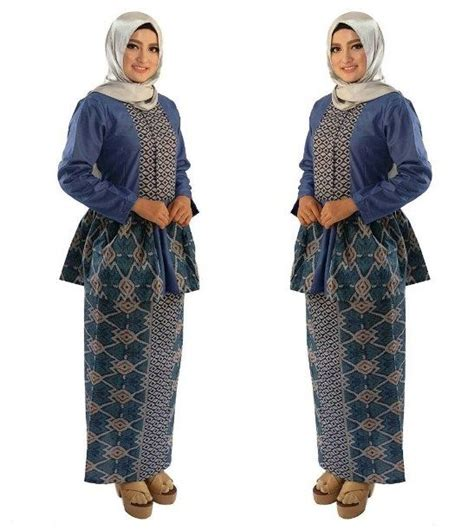 Setelan Baju Muslim Wanita Ar678 ッ 29 model baju batik setelan wanita kombinasi rok