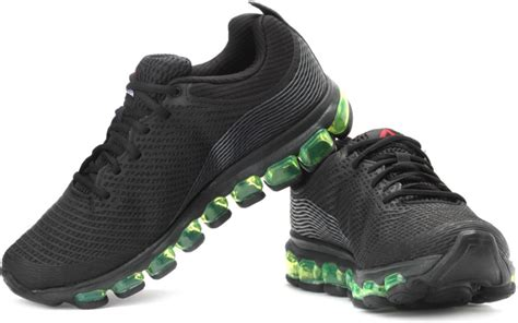 best reebok running shoes for reebok jetfuse run running shoes buy black grey color