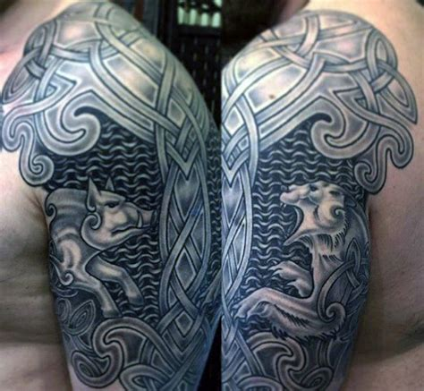 chainmail tattoo 20 celtic designs for tribal ink ideas