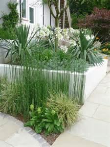 contemporary garden planting plants used in philip nash