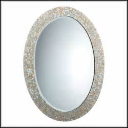 beautiful oval bathroom mirrors to add visual interest