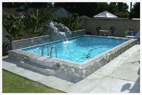 diy inground concrete pool review of large portable above ground swimming pools ingroundpoolreview s