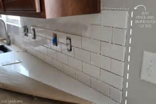 Installing Subway Tile Backsplash In Kitchen Duo Ventures Kitchen Makeover Subway Tile Backsplash