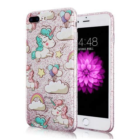 Rainbow Bling Iphone 6 rainbow unicorn bling glitter tpu cover