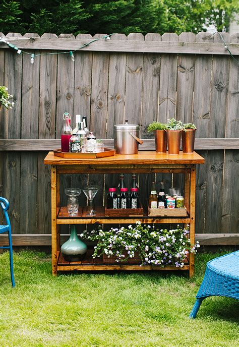 build a backyard bar 15 awesome diy outside bar ideas