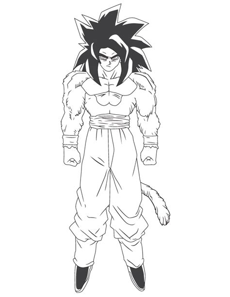 dragon ball z coloring pages bardock dragon ball z bardock cartoon coloring page h m