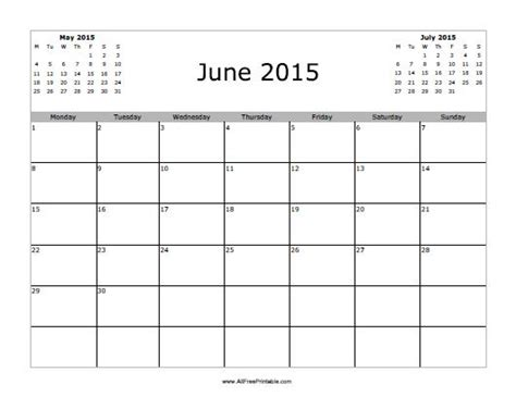 printable calendars for june 2015 june 2015 calendar free printable myfreeprintable com