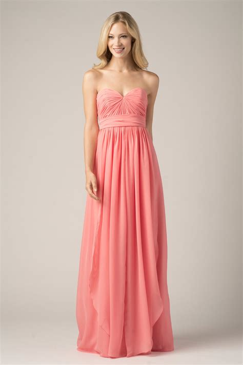 Coral Bridesmaid Dress by Coral Bridesmaid Dresses Dresscab