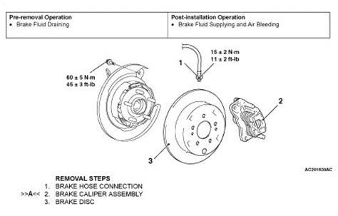 vehicle repair manual 2009 mitsubishi tundra navigation system service manual 2009 mitsubishi tundra brake replacement system diagram repair guides rear
