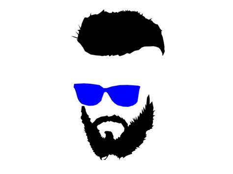 the gallery for gt beard logo beard and glasses silhouette www pixshark com images