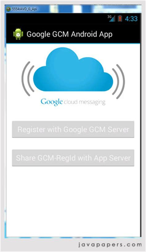 android gcm cloud messaging gcm for android and push notifications java tutorial