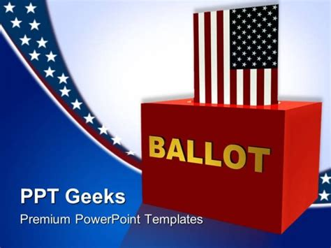 file name american ballot box government powerpoint