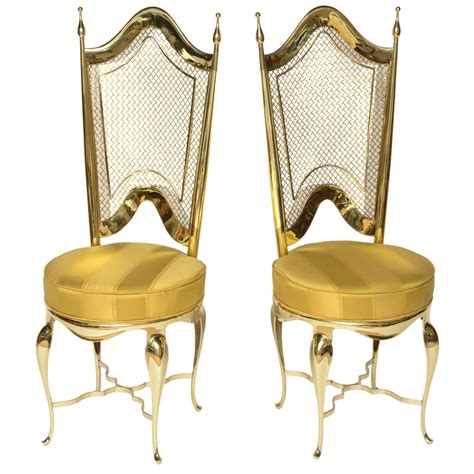 Unique Accent Chair Extremely Unique Brass Accent Chairs At 1stdibs