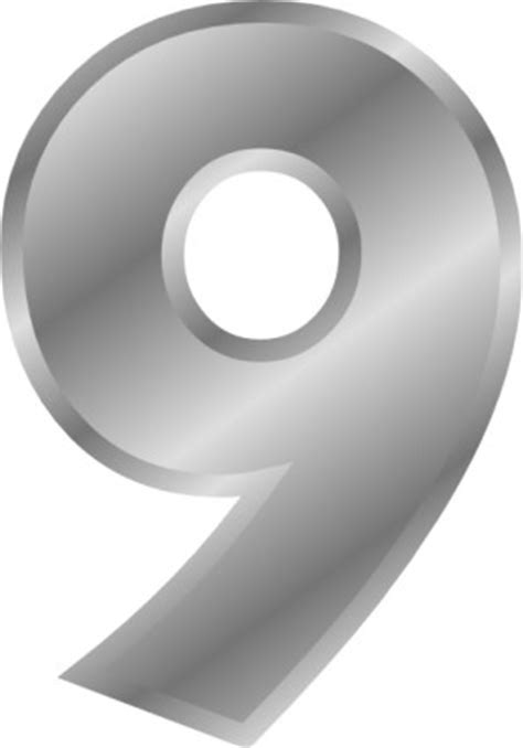 number 9 cake template 9 number template clipart best