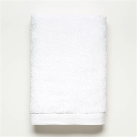 Hand towel white towels