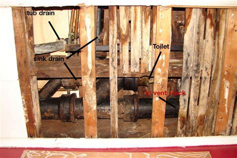 2nd floor bathroom plumbing second floor bathroom plumbing and venting