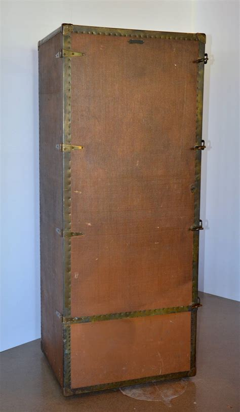 6 Foot Armoire Six Foot Wardrobe Steamer Trunk Circa 1915 For Sale At