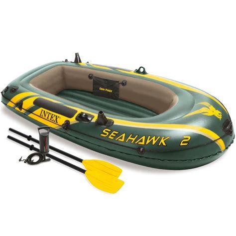 opblaasboot met stuur vidaxl nl intex seahawk 2 opblaasboot met peddels en