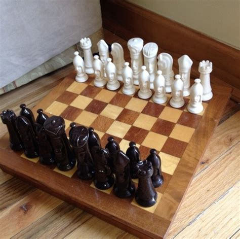 ceramic chess set 1000 images about chess set on ceramics my