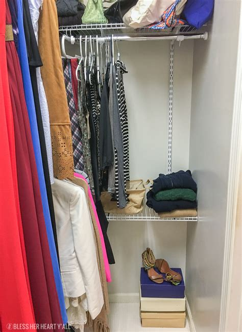 organizing our closet with rubbermaid all we are easy master closet organization bless her heart y all