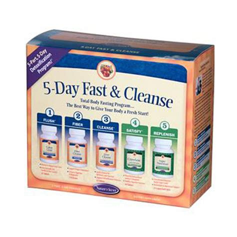 Fast Detox Diet Kit by 5day Fast Cleanse 5 1 Kit