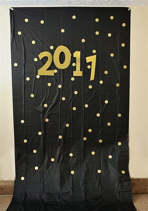New Years Photo Booth Backdrops