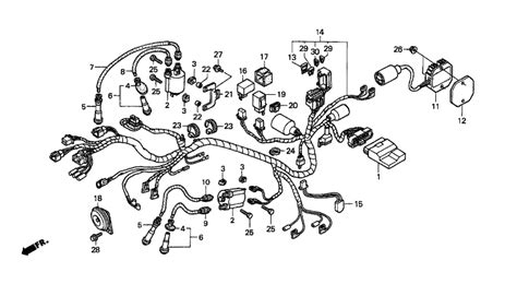 2000 honda shadow wiring diagram wiring automotive