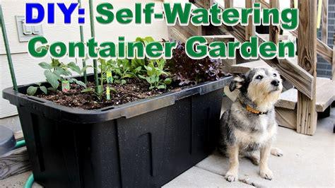 how do self watering planters work diy self watering container garden