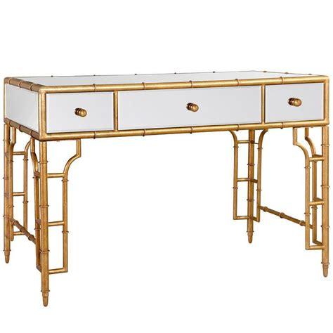 Layla Grayce Rugs Bungalow 5 Collette Vanity Desk Gold I Layla Grayce