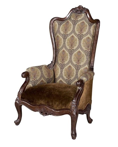 High Back Accent Chair Benetti S Italia Medici High Back Curved Accent Chair Btme270